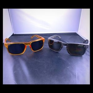 Pair of Oakley Holbrook sunglasses